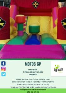 Alquiler de hinchables en Toledo - Motos GP Asociación Anímate