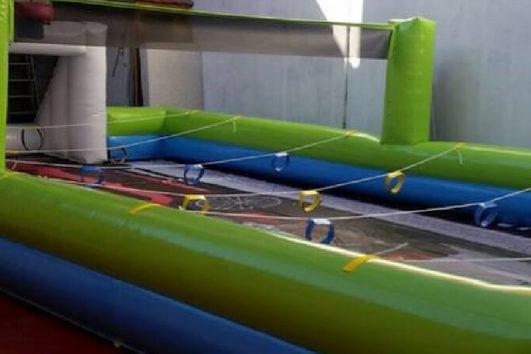 Alquiler hinchable pista multi-deportiva